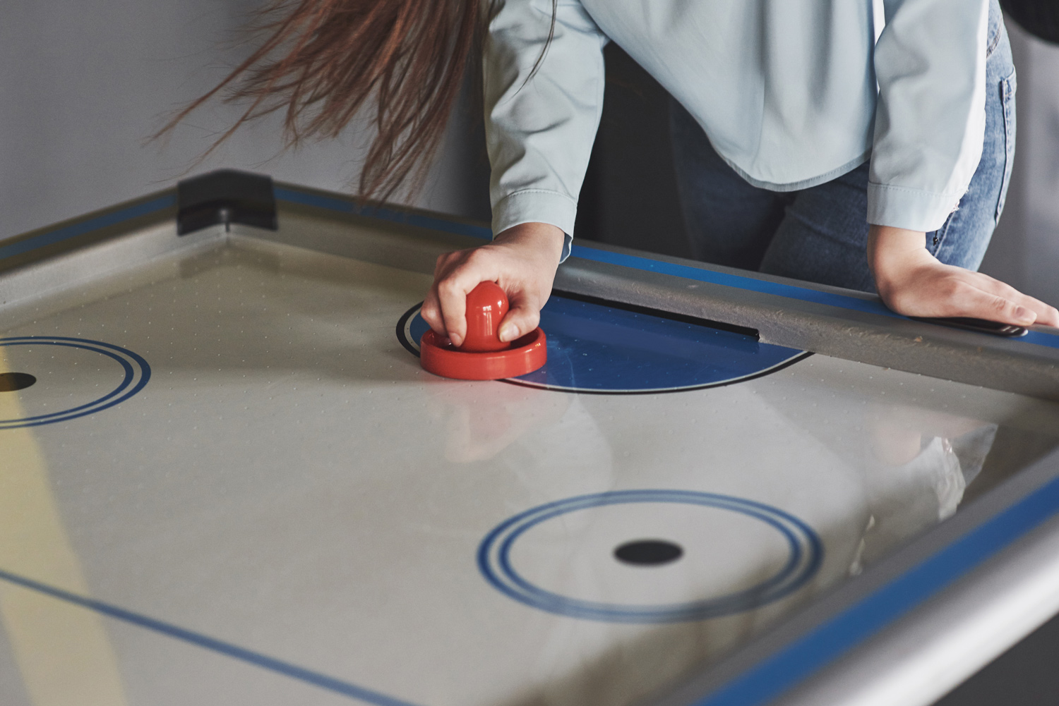 Airhockey Tafel Klein : Air hockey tafels epic space